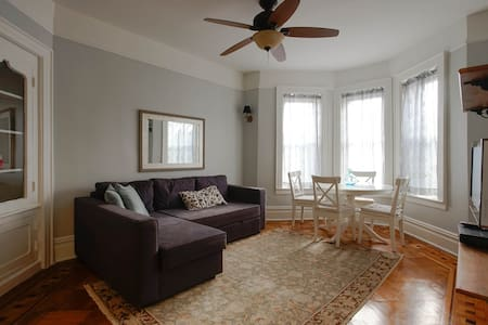 LUX Prospect Park Historic 1BR near 2,5,Q&B trains