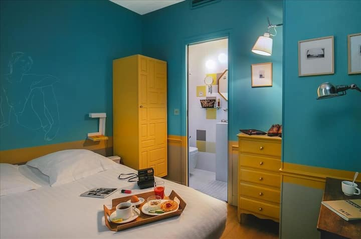 "Cosy room in heart of Paris ""Louvre Rivoli"""
