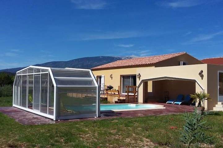 Charmante villa *** avec piscine chauffée/abritée