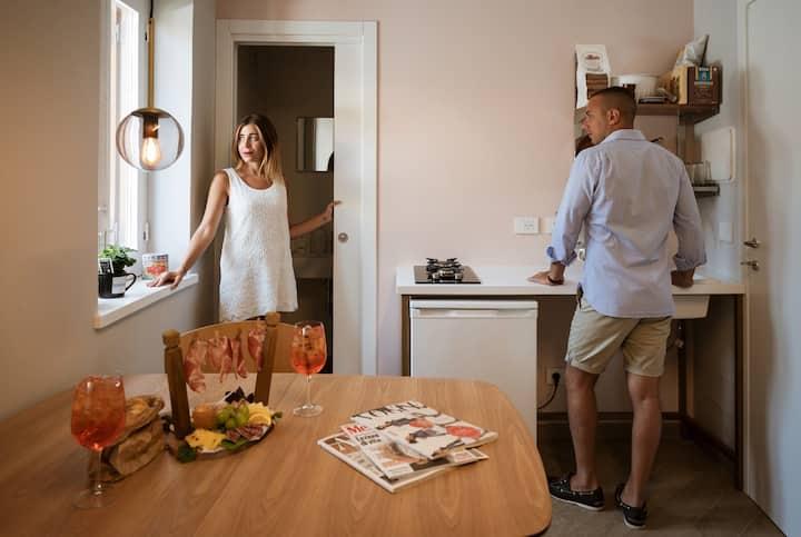 Vetriera41 - Appartamento Retro 2 Piano