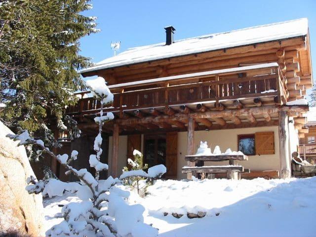 Chalet Canadien, 500 m des pistes - Bolquère - Apartament