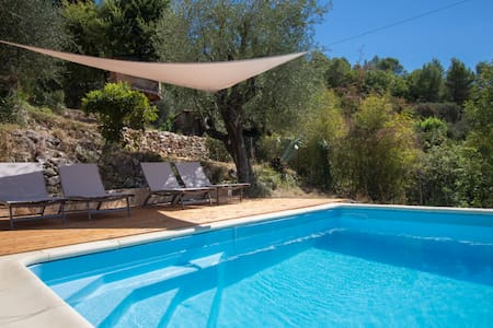 Panorama & Pool - Hinterland Nizza