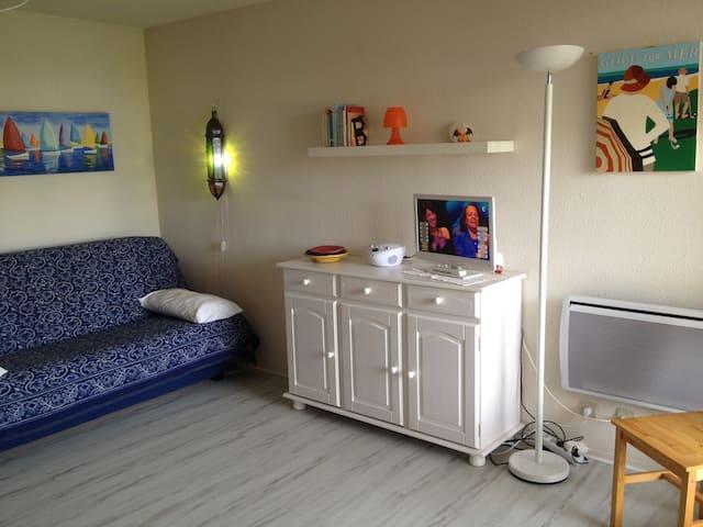 Appartement calme, élégant, lumineux, proche plage