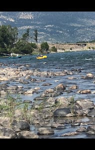 RV Campsite on Yellowstone River