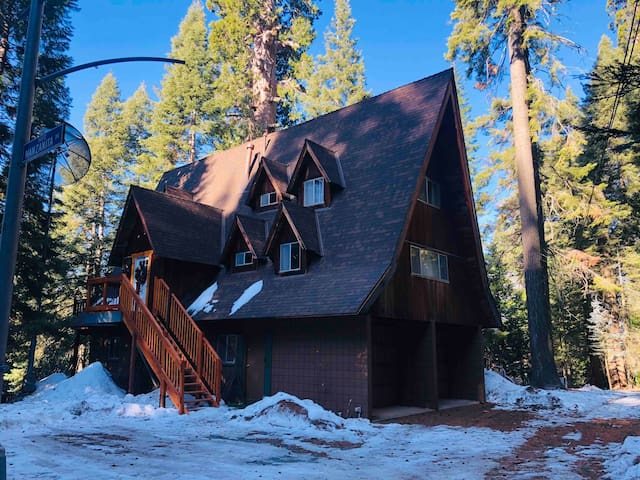 Specious Cabin nestled in Giant Sequoias!
