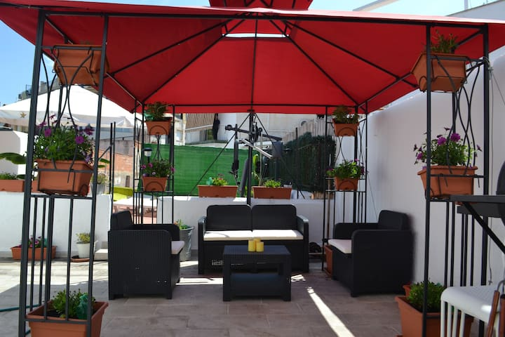 Terrace Chill-Out Area