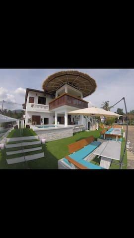 Saparote, Koh Phangan - Sea view private room
