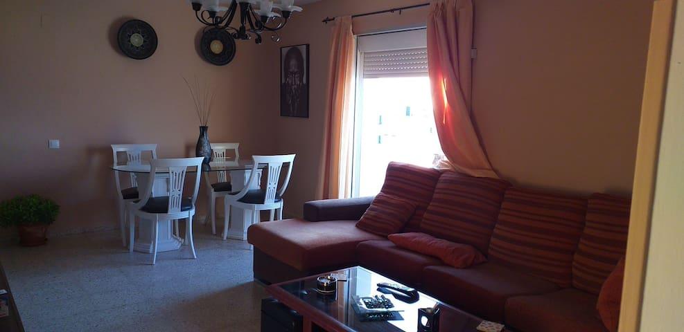 Habitacion privada apartamento compartido. Vistas