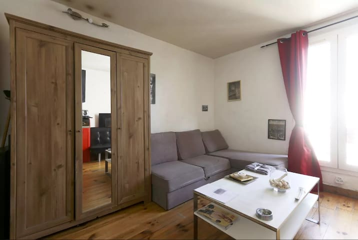 Cosy studio near Montmartre ! - Paris - Appartement en résidence