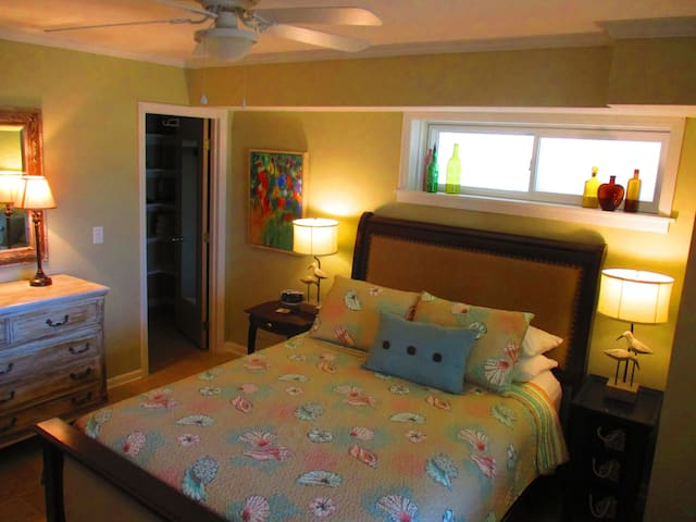 Large bright Bedroom.