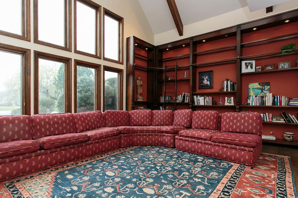 Two-story library