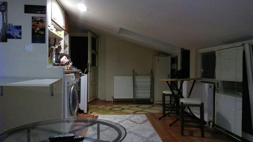 Teras Katı Tek Kişilik - altıeylül  - 아파트