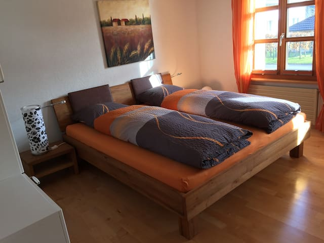 Bed & Breakfast Wohnung Thurgau - Oberwangen - Szoba reggelivel
