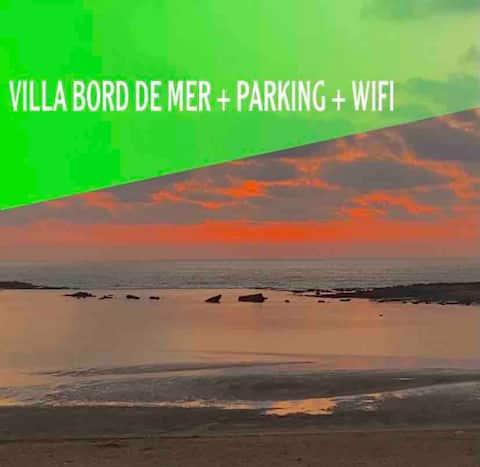 Superbe villa bord de mer (plage Val d'Or, Rabat)