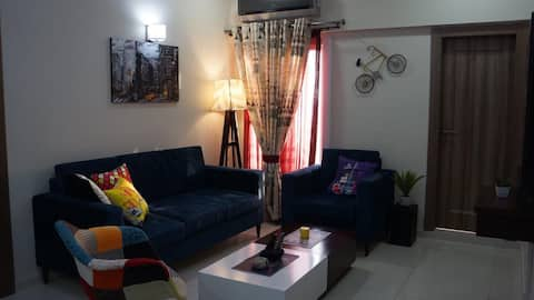 Bright, modern, 3br family-friendly apartment