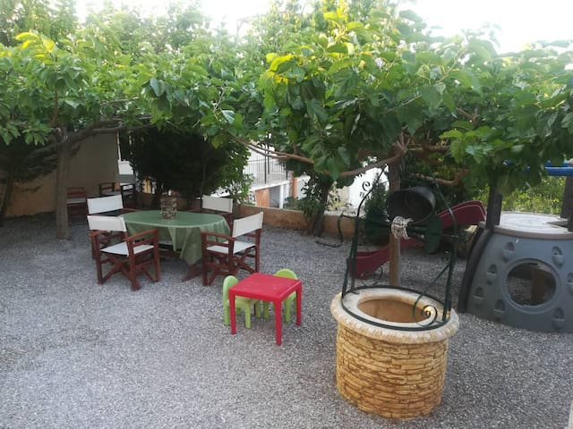 Relaxing house with playground near Athens airport