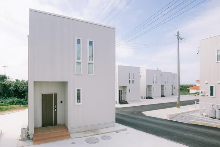 ★古宇利島 ハートロック徒歩1分★ビーチも徒歩圏★夏の沖縄を堪能できる新築プライベートハウス22♪