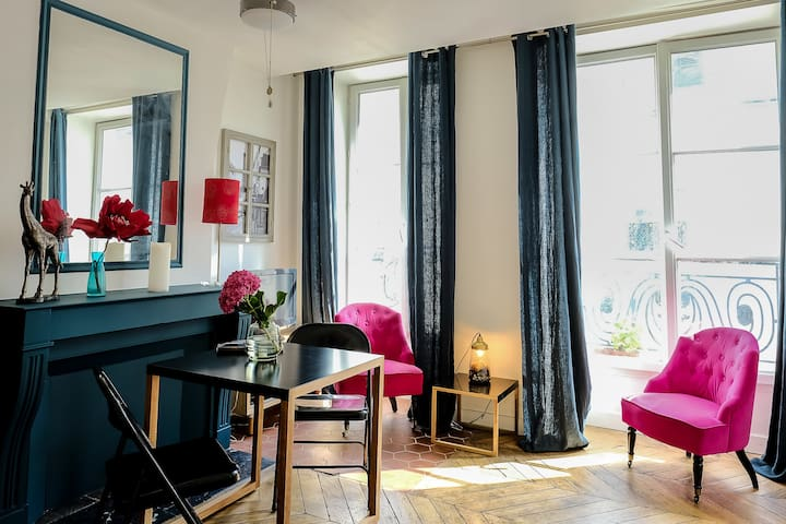 Charming studio apartment in central Paris