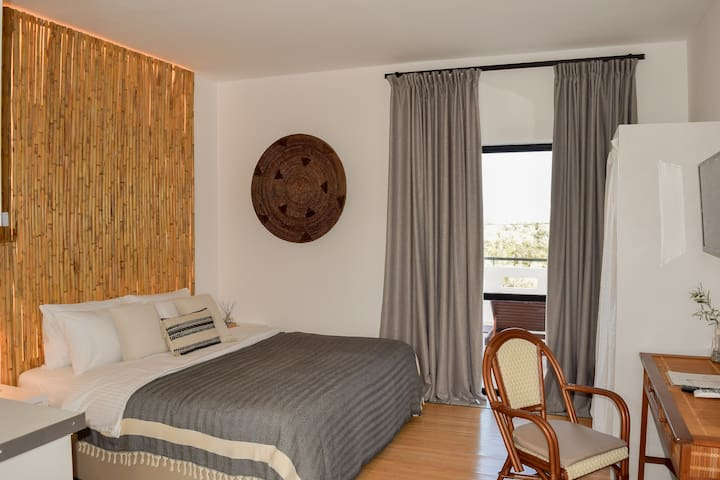 Spacious superior sea view double room