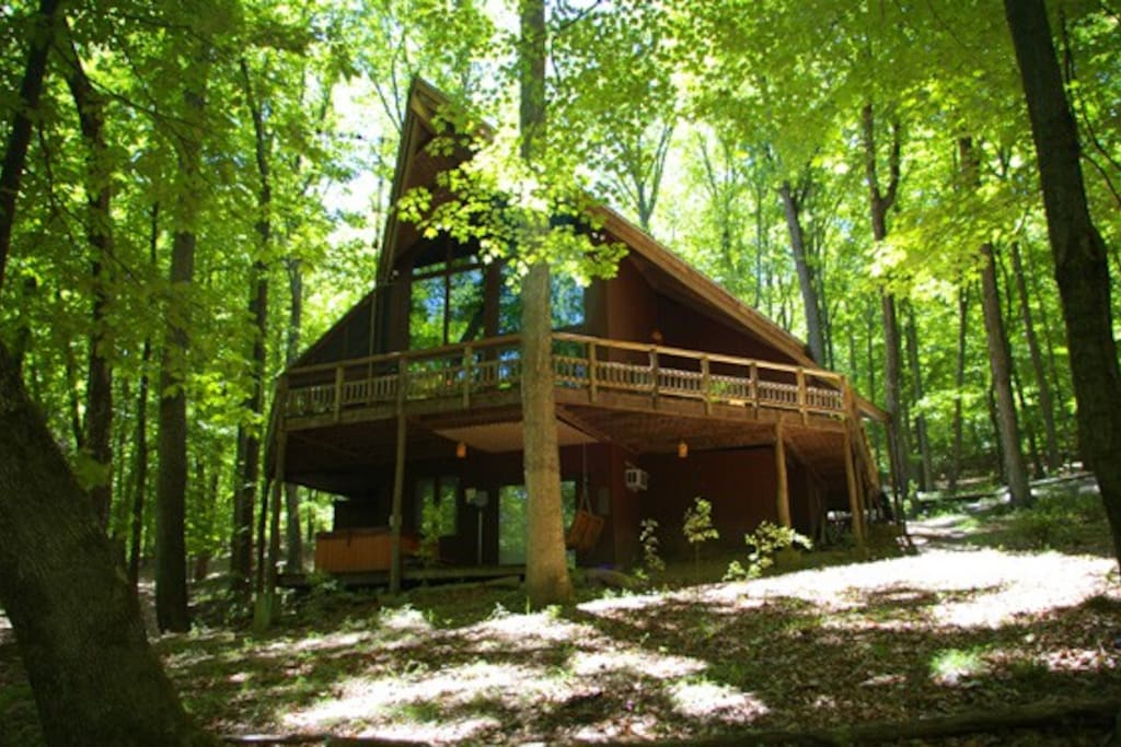 Idyllife Cabins For Rent In Berkeley Springs West