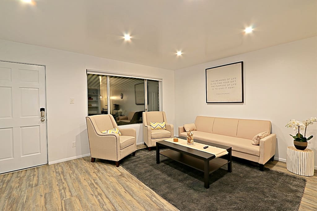 Living room, sofa bed