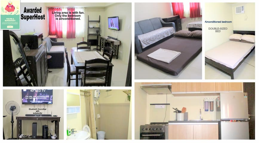 Manila 1 br. condo with sweeping view