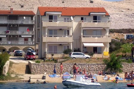 Studio flat near beach Vidalići, Pag (AS-9392-b) - Vidalići