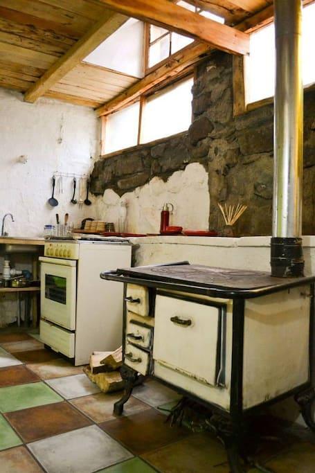 Cocina Cabaña Divisadero