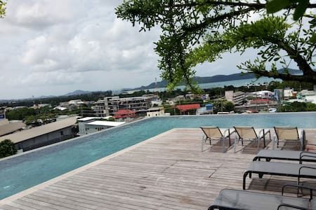 BrandNew condo Seaview Rooftop Pool