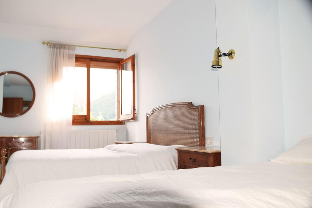 Dormitorio principal: triple