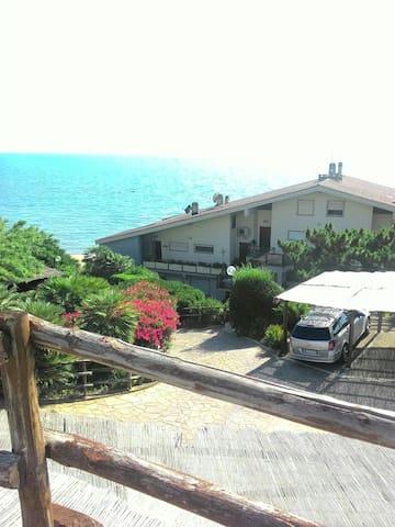 Deliziosa casa sulla spiaggia - Anzio - Ev
