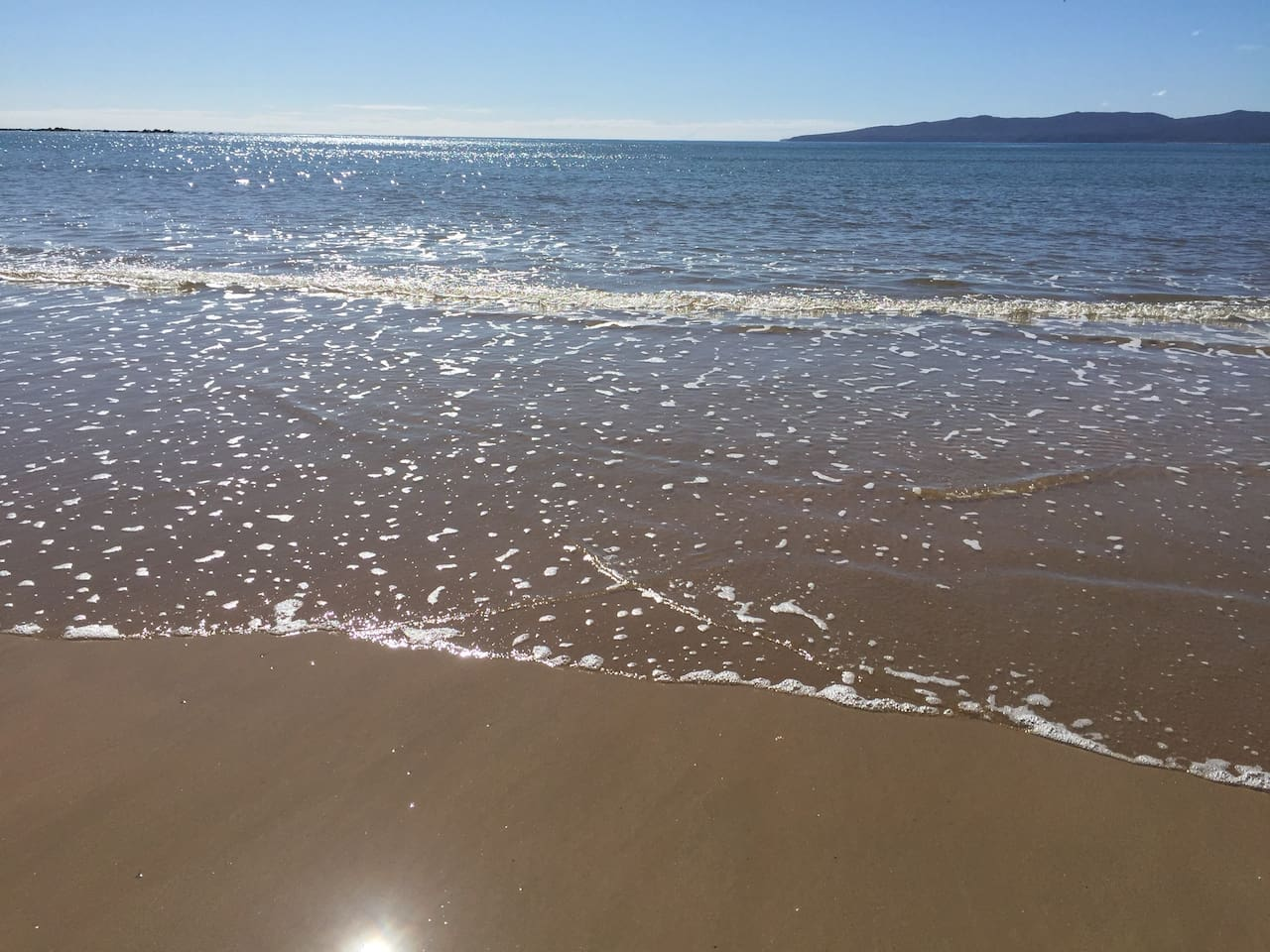 Inward tide.
