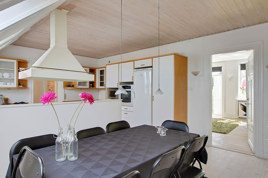 Diningplace in kitchen