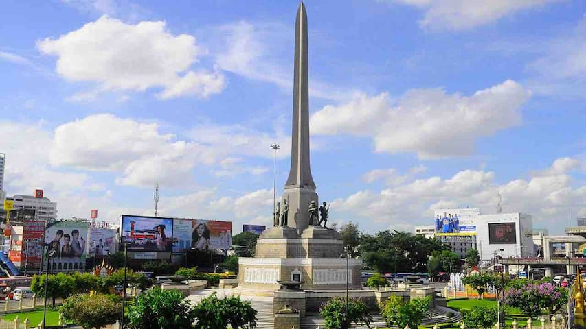 City Center of Victory Monument home stay