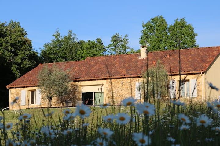 Maison avec terrasse à la campagne
