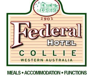 Federal Hotel, Collie - Collie - Hostel