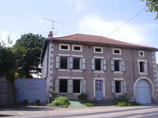 Gîte de Groupe, Vosges proche GERARMER - Brouvelieures - Hus