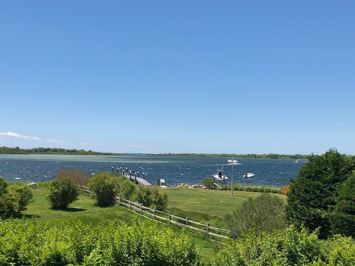 Serenity & Salt at the Beach Rose Farm —Waterfront