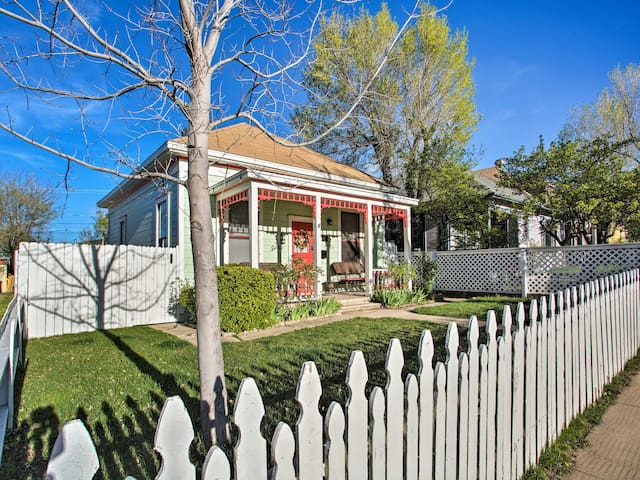 Serendipity Cottage w/Yard, Walk to Town + Dining!