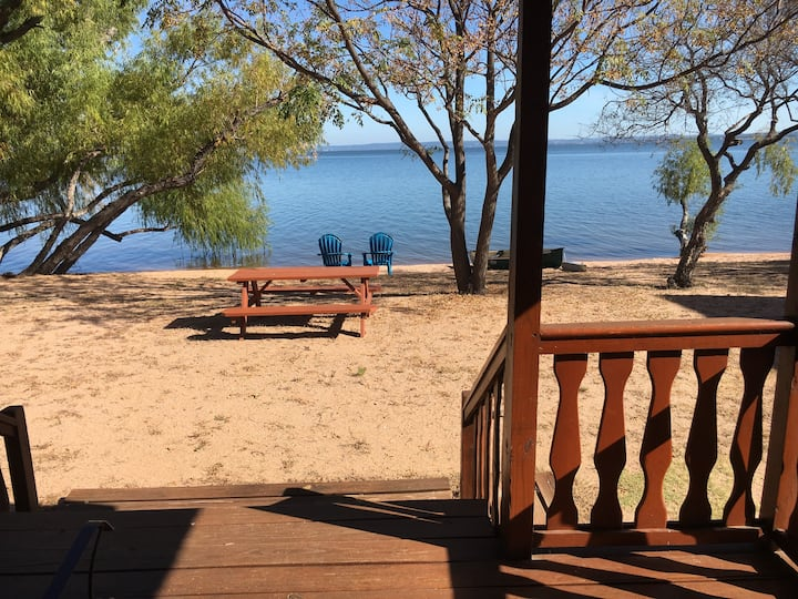 Waterfront Cabin #8 @Willow Point on Lake Buchanan