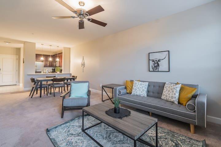 Lux Apartment 5 Minutes from Six Flags