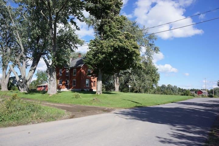 Spacious Brick Farmhouse