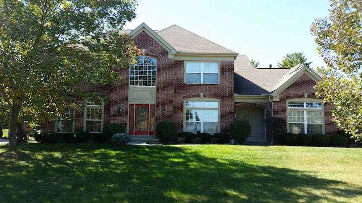 Liberty Township House near Voice of America