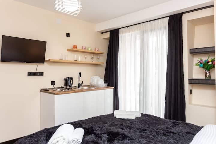 Bright and Cozy Studio Hotel Apartment In Gudauri