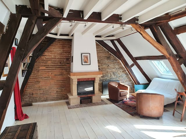 Charming little private suite - Heart of Rennes