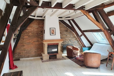 Una encantadora suite privada - Corazón de Rennes