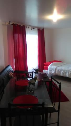 Appartement Calme, Spacieux et près de Paris - Mantes-la-Jolie - Huoneisto