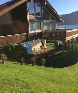 Cosy apartment in the basement with great view. - Alesund - Apartamento