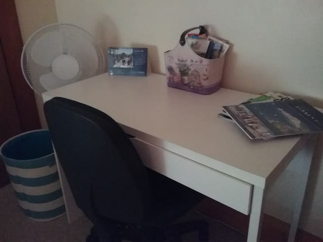 Study desk and chair in the Office Room on Methuen