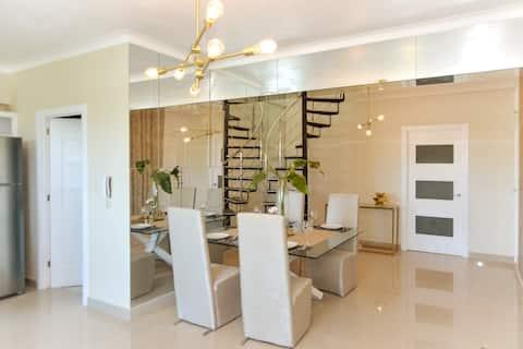 C4 Comfort-Luxury Penthouse near Zona Colonial